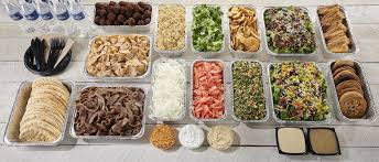 Image result for sharing catered food at house