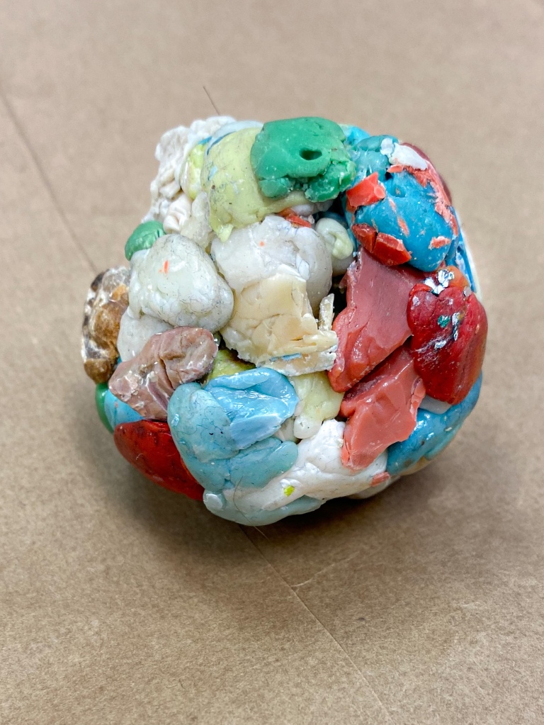 great big ball of chewed gum